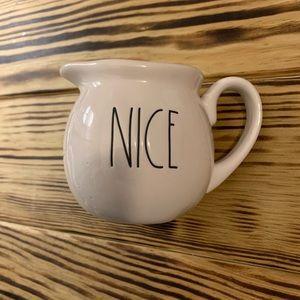 "Creamer ""nice"" from Rae Dunn"